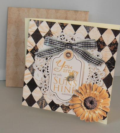 Latest Upload - Sunflower Card Kit