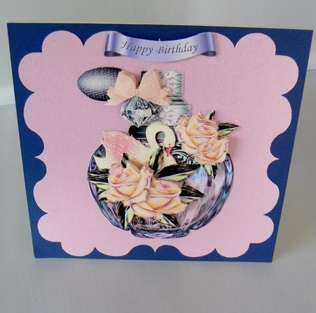 Latest Upload - Mini Kit perfume Vintage Roses & Swan