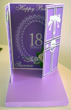 Key to the door 18th birthday gatefold card cup19122 108 for 18th key of the door