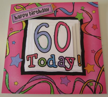 60th Birthday Quick Card with Pyramage in Card Gallery