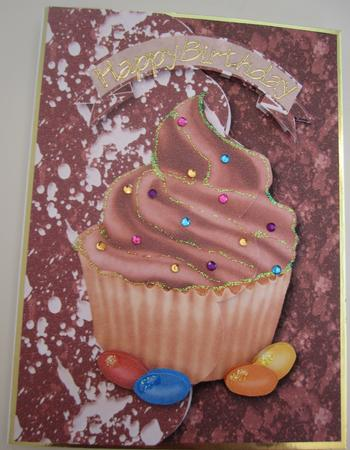 Chocolate Cupcake Fun in Card Gallery