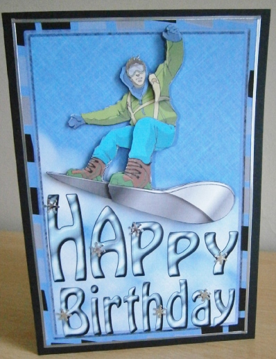 Card Gallery - Snowboarding