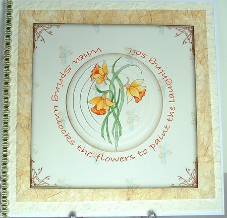 Card Gallery - Spring Daffodils