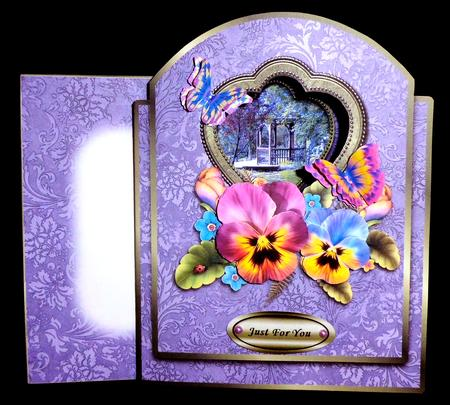 Card Gallery - Through The Looking Glass - Garden Gazebo