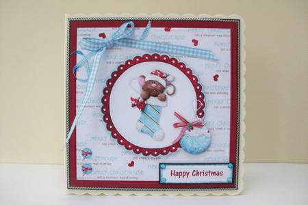 Card Gallery - Have a Red and Blue Christmas
