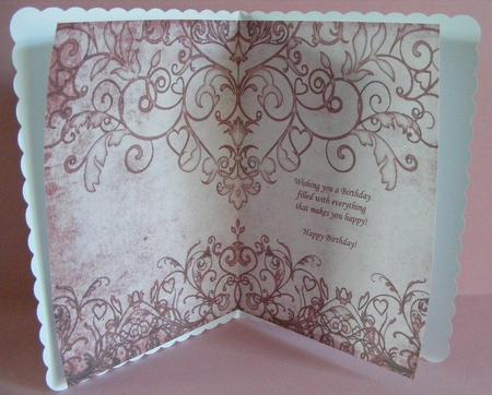 Card Gallery - 12 Sheet Filigree and Lace Paper Kit