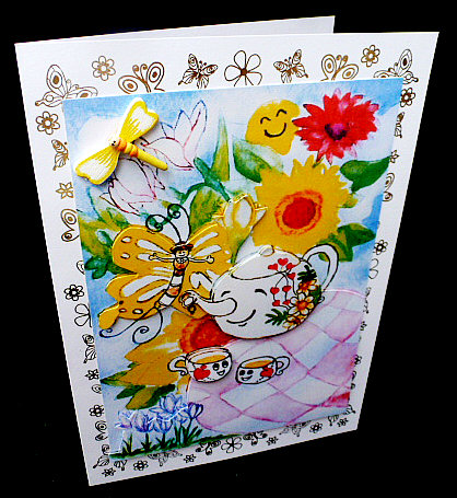 Card Gallery - have a great tea time-mini kit