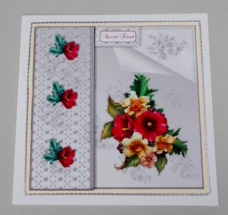 Card Gallery - Flowers and Pearls