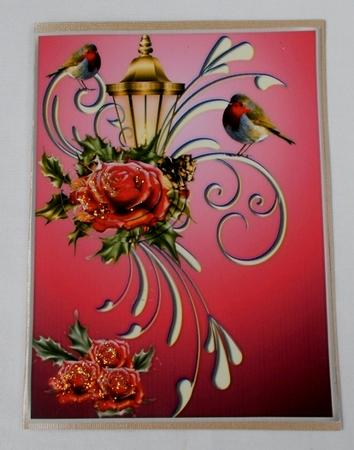 Card Gallery - Robins and Roses