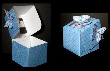 Card Gallery - Cupcake Box Template