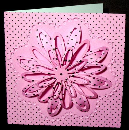 Card Gallery - Spots, Stripes & Squares - Pink