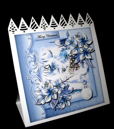 Card Gallery - Winterview Ice Bleu 3