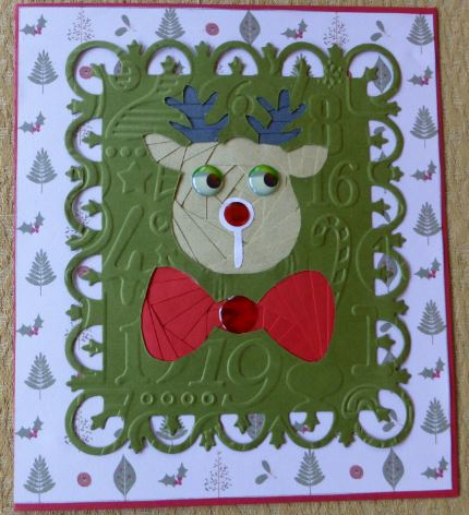 Card Gallery - Reindeer with a Bowtie