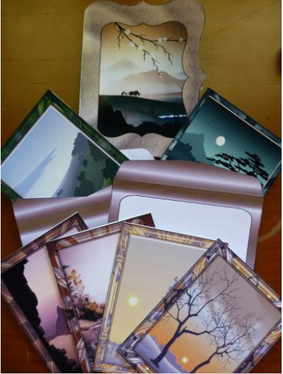 Card Gallery - Landscapes - Notelets Set