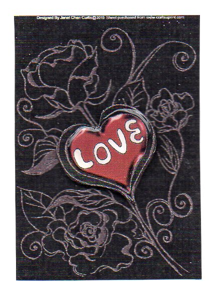Card Gallery - happy valentines-sweet heart
