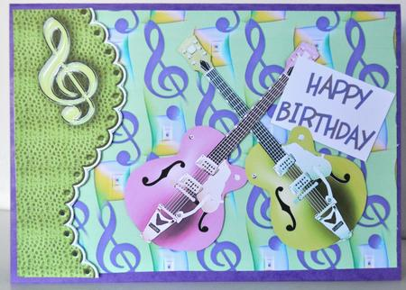 Card Gallery - Musical Notes - Background Paper