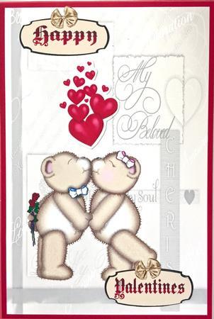 Card Gallery - Kissing Teddy Bears SBS