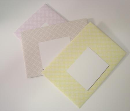 Card Gallery - C6 Envelopes - Embossed Circles - Pastel