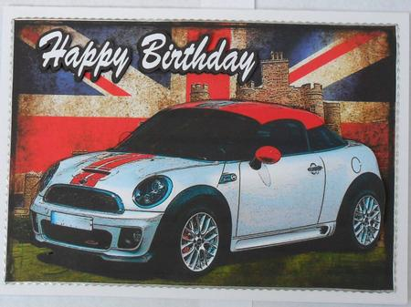 Card Gallery - 2 Quick Mini coupe card fronts
