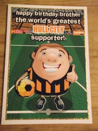 Hull City Football Club Brother - CUP314800_971 | Craftsuprint