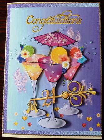Card Gallery - Celebration Cocktails