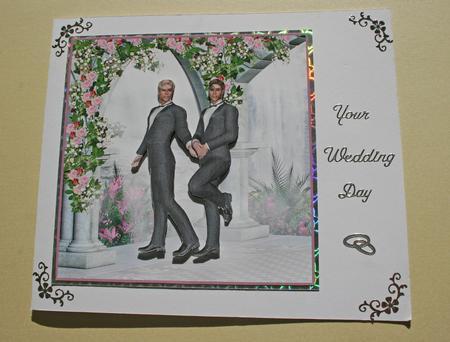 Civil Partnership Cards Card Gallery Male Civil
