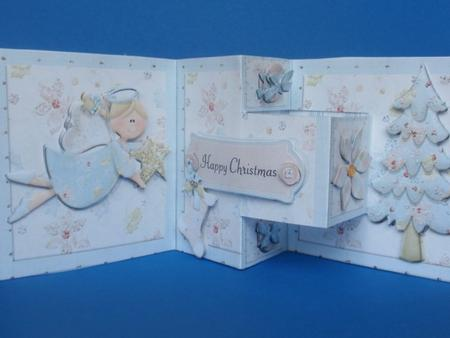 Little Angel T-Step Trifold Card in Card Gallery