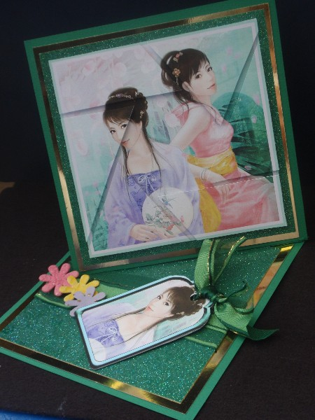 oriental Ladies Camera Eye Stacker in Card Gallery