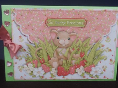 So Berry Precious Scalloped Edge Envelope Card in Card Gallery