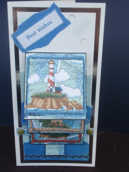 By the Sea in Card Gallery