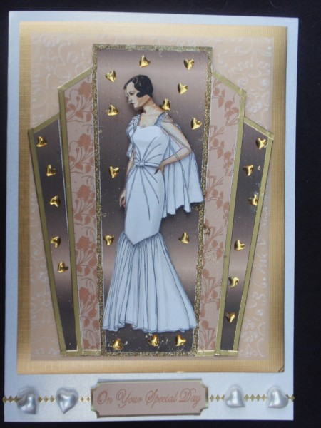 Deco Bride in Card Gallery