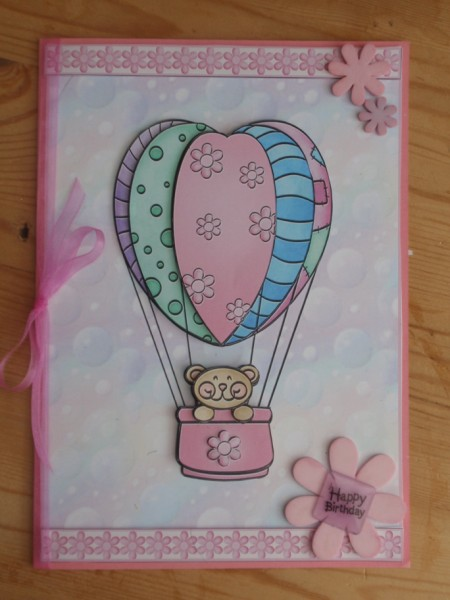 Ballooning Bear in Card Gallery