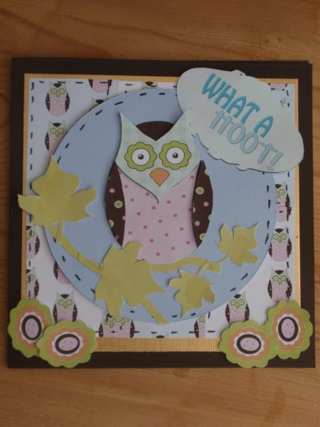 Build a Card Owls in Card Gallery