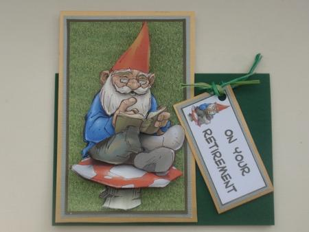 Norman the Gnome in Card Gallery