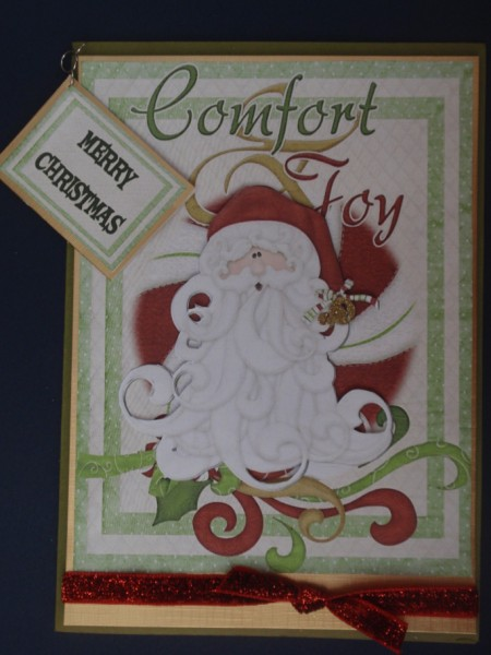 Comfort and Joy in Card Gallery