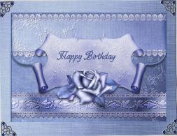 Winter Rose Envelope in Card Gallery