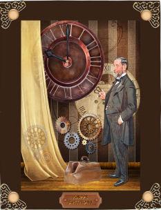 Steampunk - Edwardian Gentleman in Card Gallery