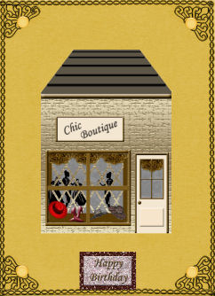 Chic Boutique in Card Gallery