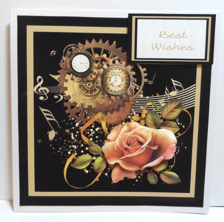 Steampunk Rose Mini Kit in Card Gallery