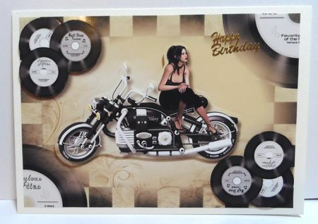 Vinyl Rockabilly Rebel in Card Gallery