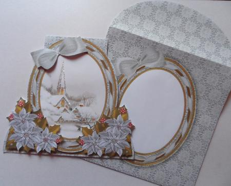 Ice Church Special Large Oval Card Mini Kit in Card Gallery