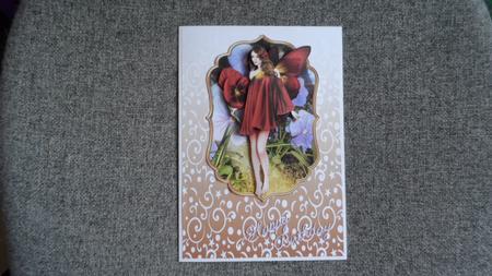 Gradient White Swirls Backing Sheet Kit in Card Gallery