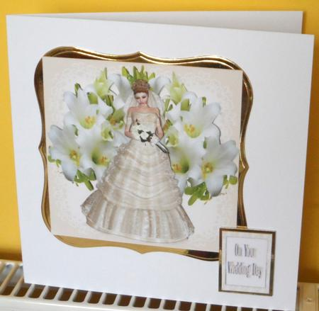 Lilies for the Bride Step by Step in Card Gallery