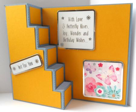 432 Stair Step Card *SVG* in Card Gallery