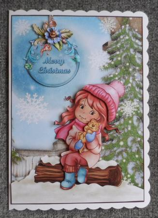 Winter Snuggles Topper in Card Gallery