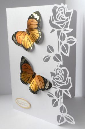 Roses Edge Card, Scut3 in Card Gallery