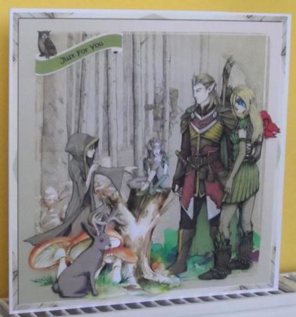 Elves in the Wood in Card Gallery