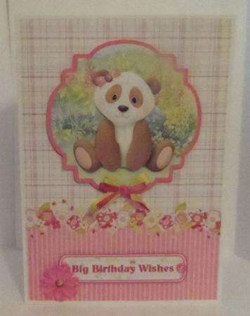 Sweet Panda Card Topper & Decoupage in Card Gallery