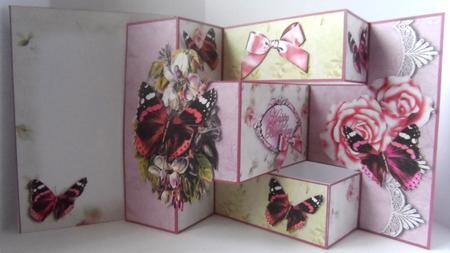 Butterflies & Bows Tri-shutter Card Kit in Card Gallery