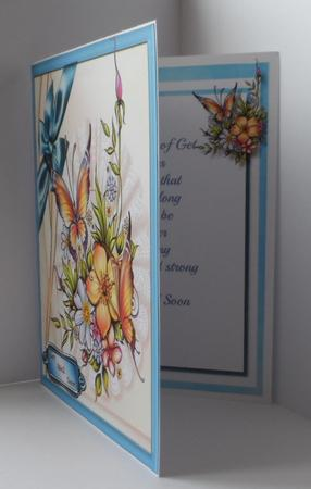 Get Well Soon Topper with Verse , in Card Gallery